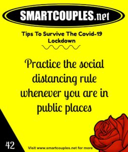 How To Be The Covid-19 Couple - Smart Couples, Smart Protection.