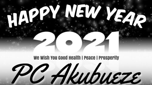 2021 New Year Prophetic Salutation - From The Desk Of Reverend P. C. Akubueze
